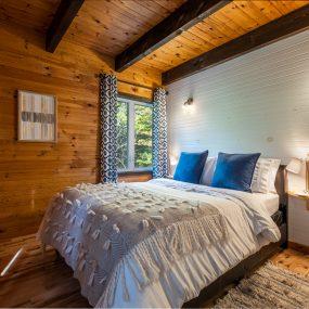 Chalet Montcalm  Chambre À Couché 1