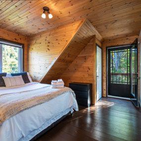 Chalet Montcalm  Chambre À Couché 2